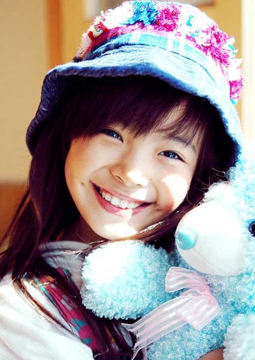9岁可爱女孩写真系列 吕敖