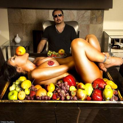 Fruits and fuck diet 4